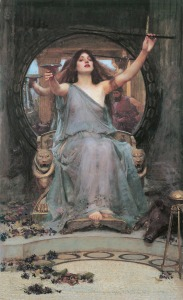 """Circe offre la coppa ad Ulisse"" - 1891 - John William Waterhouse"