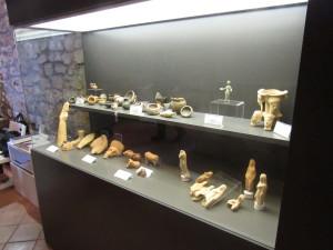 interno del museo del palazzo caetani trevi www.megalithic.it P.Ruggeri