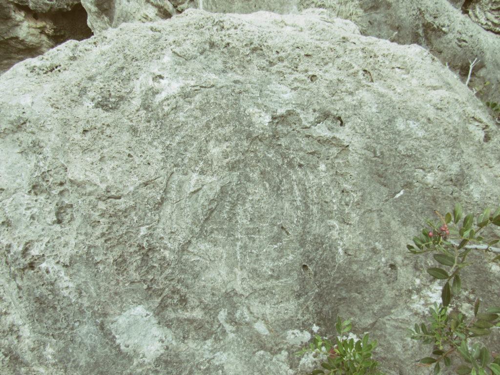 labirinto in bassorilievo es culleram p.ruggeri www.megalithic.it