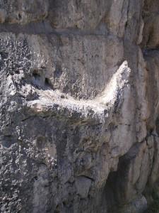 Bassorilievo presente nell'angolo sud-est dell'acropoli