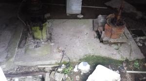 cisterna e residui di impianto idraulico P.Ruggeri www.megalithic.it