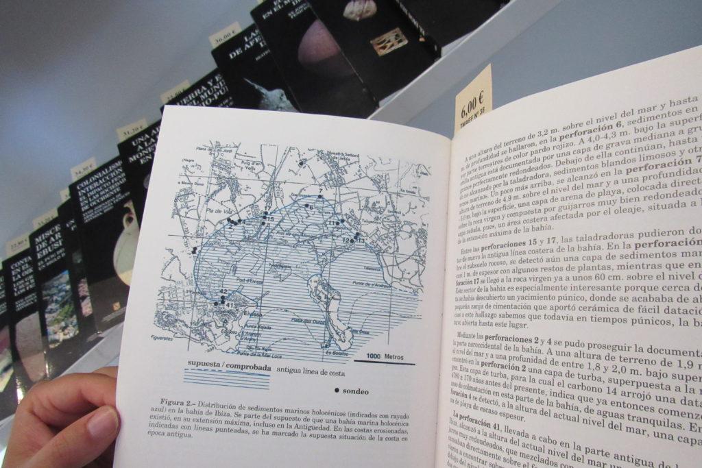 museo puig des molins libri di archeologia a disposizione